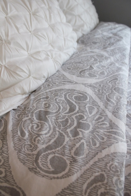 Pottery Barn Bedding. Yes. Please